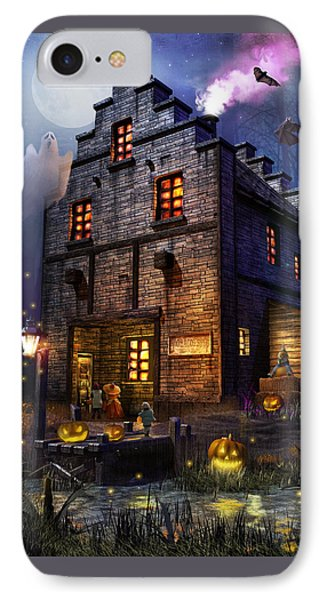 Firefly Inn Halloween Edition IPhone Case by Joel Payne