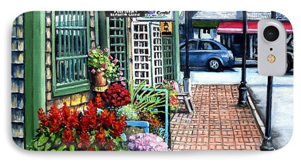 Firefly Lane Bar Harbor Maine IPhone Case