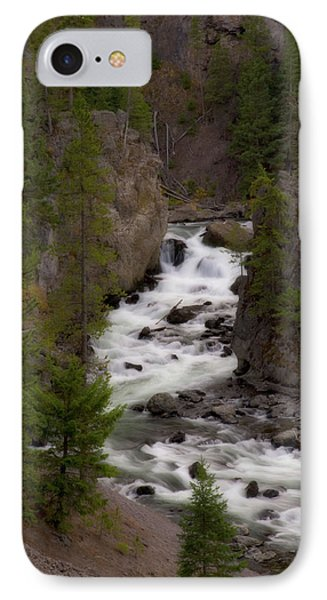IPhone Case featuring the photograph Firehole Canyon by Steve Stuller