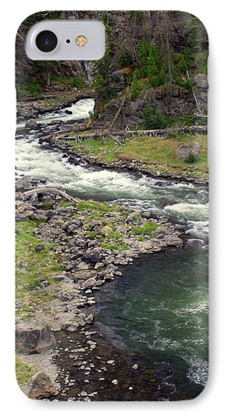 Firehole River 2 Phone Case by Marty Koch