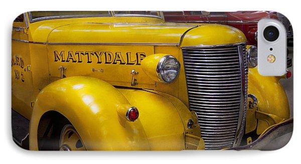 Fireman - Mattydale  Phone Case by Mike Savad