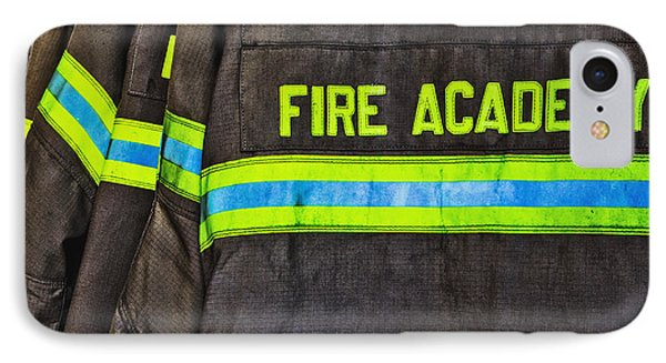 Fireman Jackets Phone Case by Skip Nall