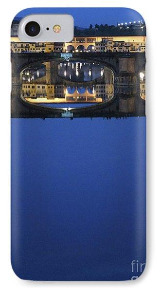 Firenze Blue IIi Phone Case by Kelly Borsheim