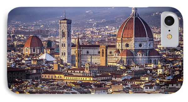 IPhone Case featuring the photograph Firenze E Il Duomo by Sonny Marcyan