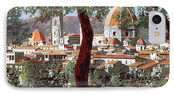 Firenze IPhone Case by Guido Borelli