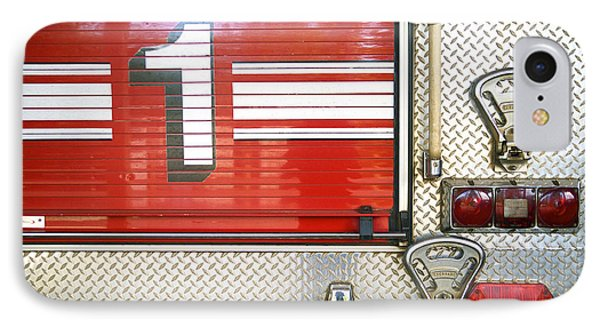 Firetruck Detail I Phone Case by Kicka Witte - Printscapes