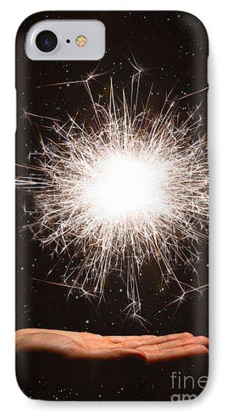 Firework Sparkler IPhone Case by Aleksey Tugolukov