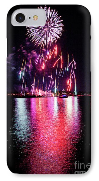 Fireworks 1 IPhone Case by Butch Lombardi