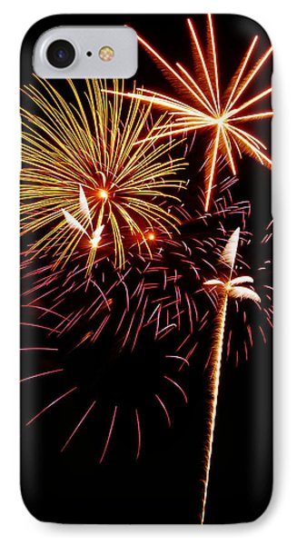 Fireworks 1 Phone Case by Michael Peychich
