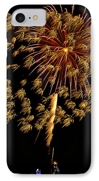 IPhone Case featuring the photograph Fireworks 10 by Bill Barber