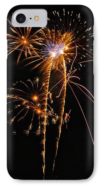 Fireworks 2 Phone Case by Michael Peychich
