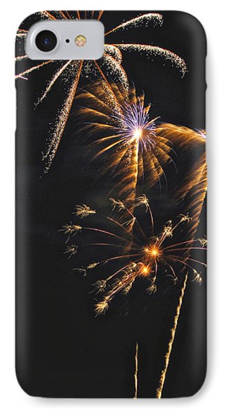 Fireworks 3 Phone Case by Michael Peychich