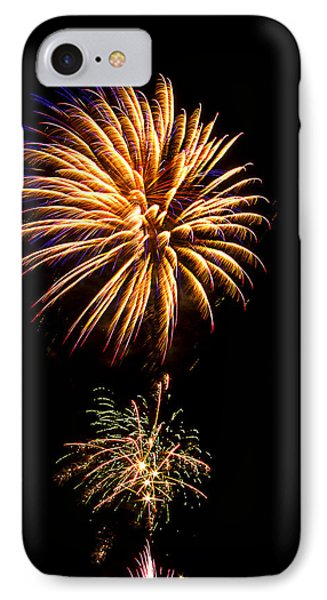 Fireworks 4 IPhone Case by Bill Barber