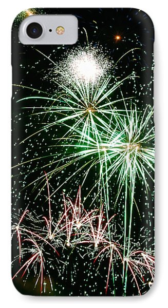 Fireworks 4 Phone Case by Michael Peychich