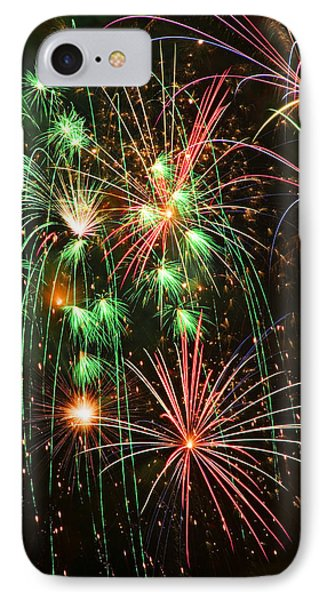 Fireworks 4th Of July IPhone Case by Garry Gay
