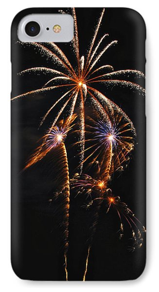 Fireworks 5 Phone Case by Michael Peychich