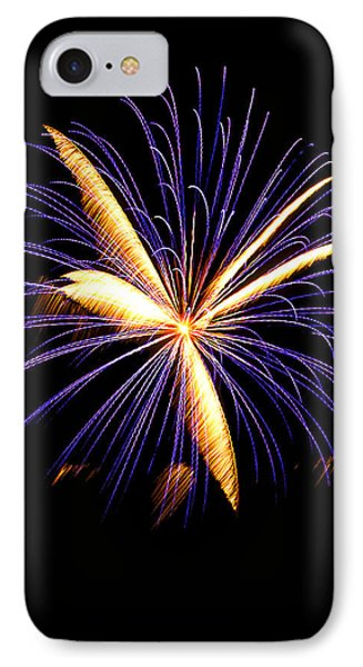 IPhone Case featuring the photograph Fireworks 6 by Bill Barber