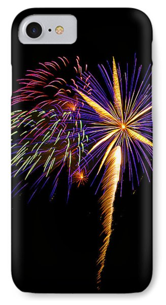 IPhone Case featuring the photograph Fireworks 8 by Bill Barber
