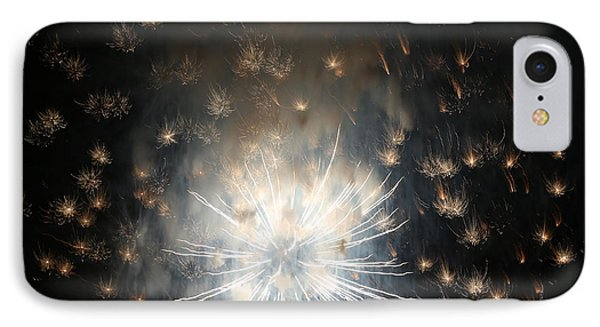 Fireworks Abstract 40 2015 IPhone Case