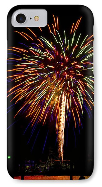 IPhone Case featuring the photograph Fireworks by Bill Barber