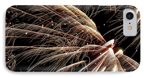 IPhone Case featuring the photograph Fireworks Evolution #0710 by Barbara Tristan
