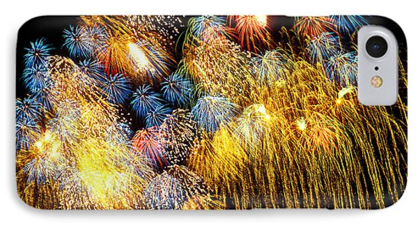 Fireworks Exploding  Phone Case by Garry Gay