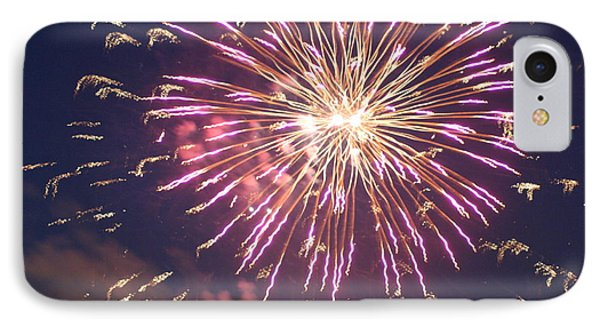 Fireworks In The Park 2 IPhone Case by Gary Baird