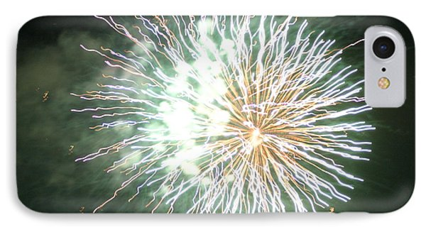 Fireworks In The Park 4 IPhone Case by Gary Baird