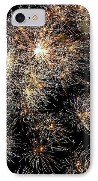 IPhone Case featuring the photograph Fireworks by Suzanne Stout