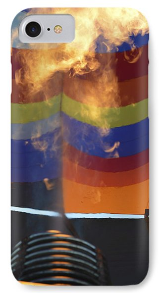 Firing Up IPhone Case by Linda Geiger