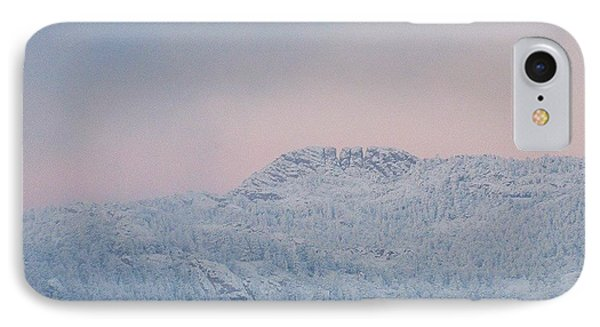 First Big Snow On Horsetooth Mountain IPhone Case by Jeffrey Birr