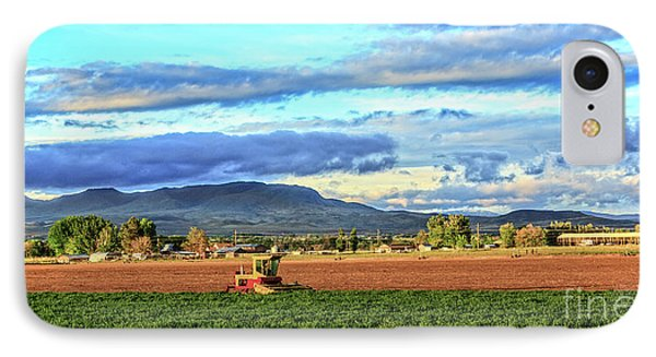 First Cutting Of Alfalfa IPhone Case by Robert Bales