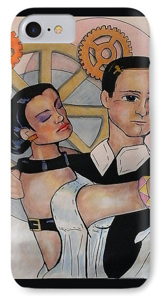First Dance IPhone Case by Loretta Nash