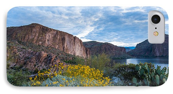 First Day Of Spring - Canyon Lake Phone Case by Leo Bounds