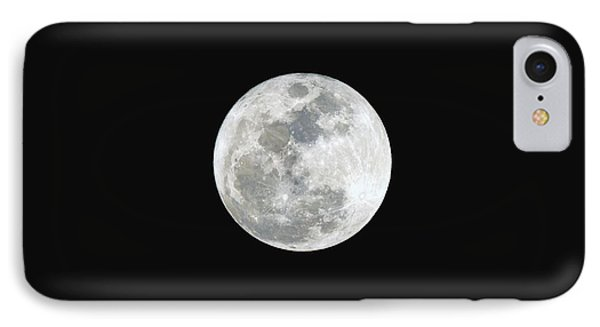 IPhone Case featuring the photograph First Full Moon Of 2016 by Eddie Yerkish