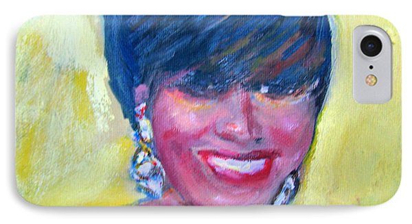 First Lady In Red Phone Case by Patricia Taylor