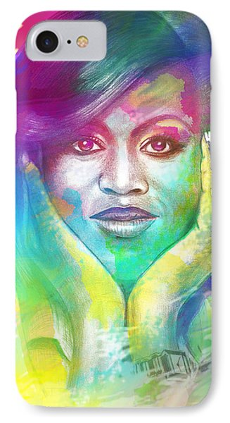 First Lady Obama IPhone Case by AC Williams