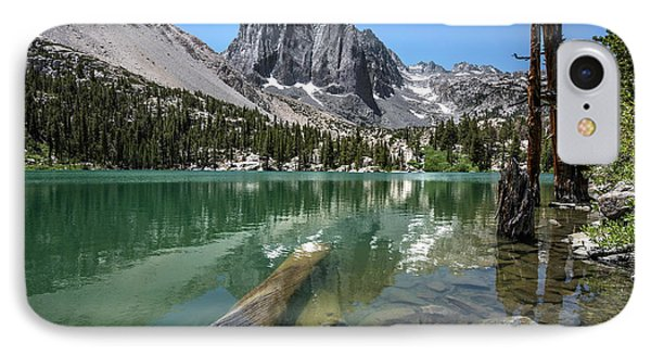 First Lake Reflection IPhone Case by Scott Cunningham