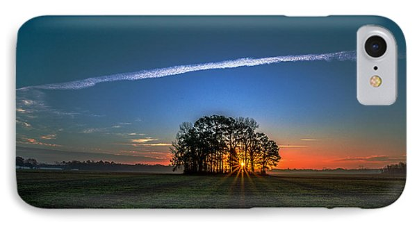 First Light At Center Grove IPhone Case by John Harding