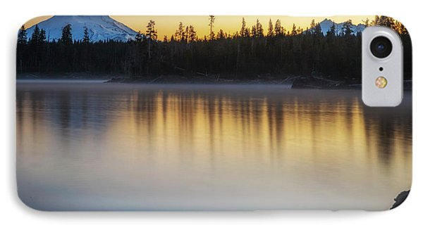 IPhone Case featuring the photograph First Light At Lava Lake by Cat Connor