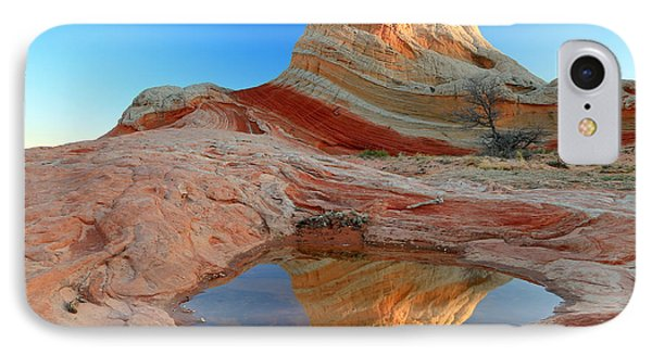 First Light At White Pocket. IPhone Case by Johnny Adolphson