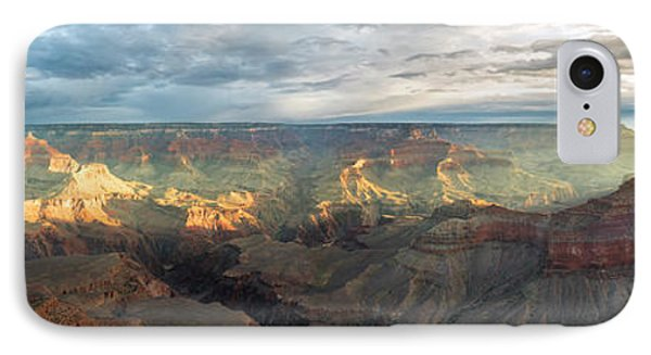 First Light In The Canyon IPhone Case by Jon Glaser