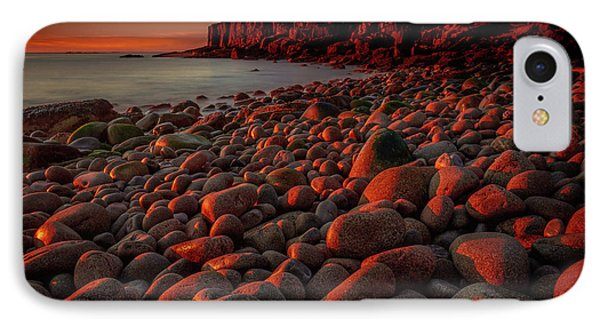 First Light On A Maine Coast IPhone Case by Tim Bryan