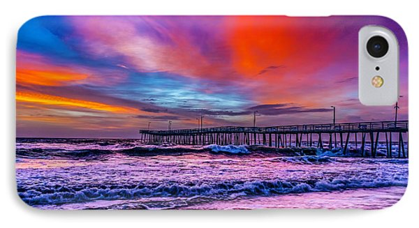 IPhone Case featuring the photograph First Light On The Beach by Nick Zelinsky