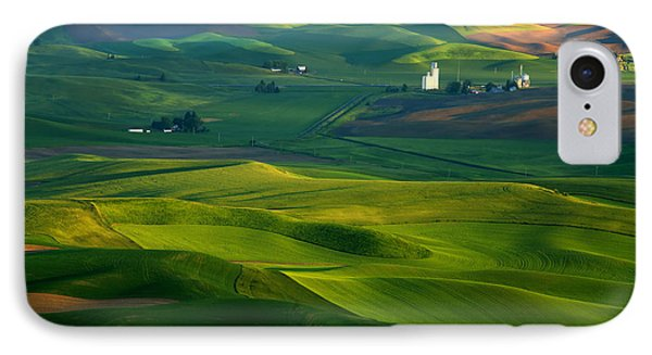 First Light On The Palouse IPhone Case by Mike  Dawson