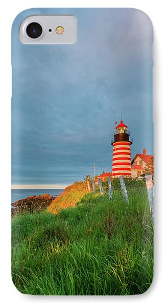 First Light - Vertical IPhone Case by Michael Blanchette