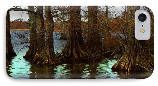 First Rays At Reelfoot IPhone Case by Julie Dant