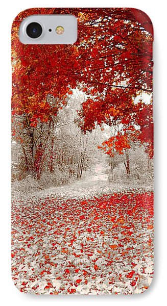 First Snowfall In Duluth Phone Case by Helen Stapleton