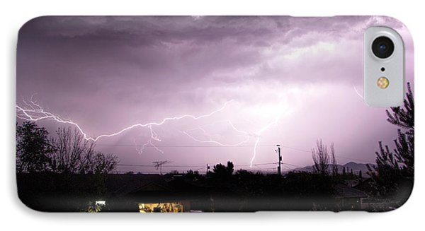 First Summer Storm IPhone Case by Charles Ables