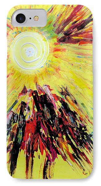 First Sun IPhone Case
